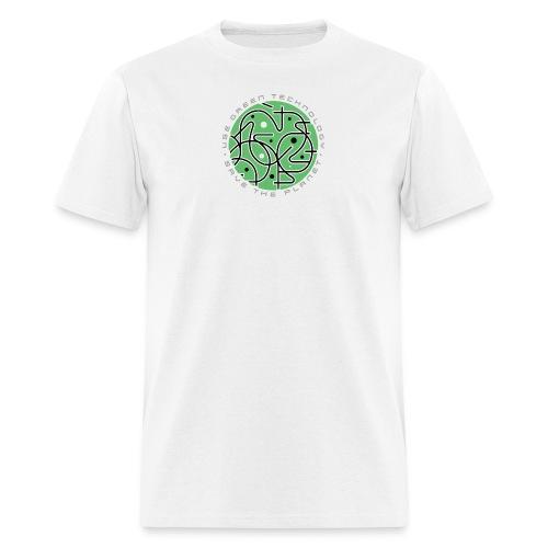 green_tech-2 - Men's T-Shirt