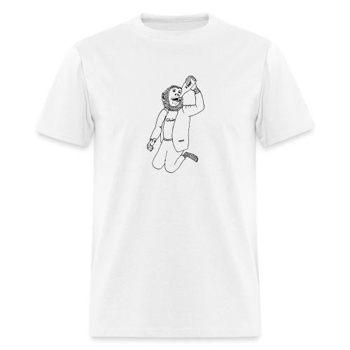Drinking Chimpo Blackline - Men's T-Shirt