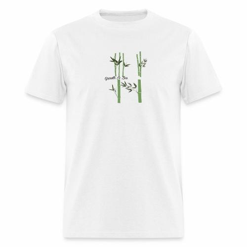 Growth Is Zen - Men's T-Shirt