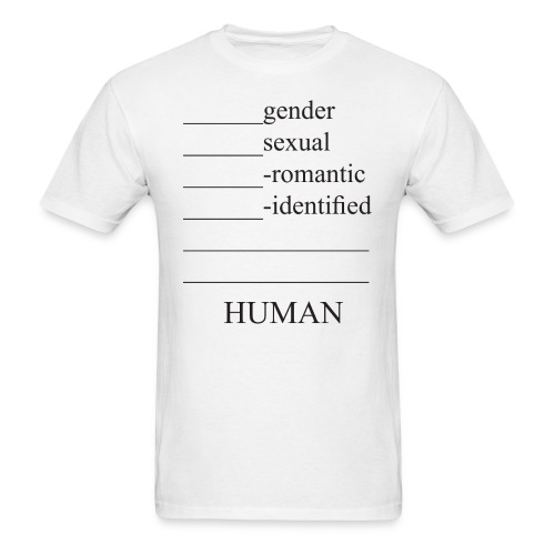 fill in the blank extended - Men's T-Shirt