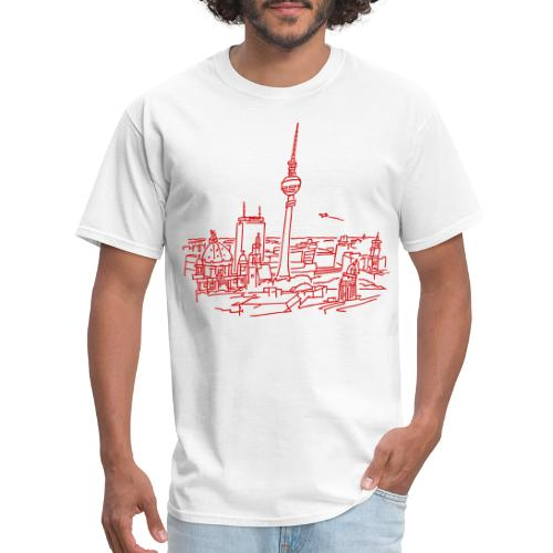 Panorama of Berlin - Men's T-Shirt