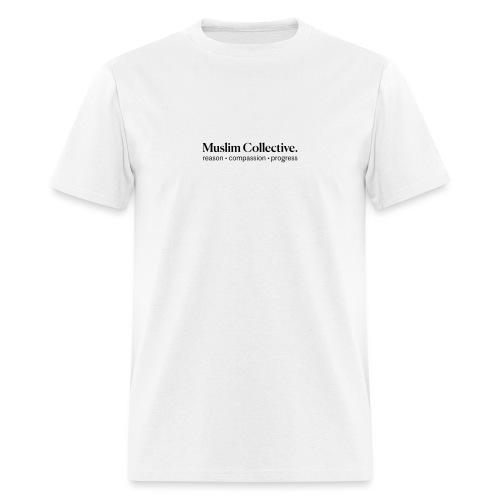 Muslim Collective Logo + tagline - Men's T-Shirt