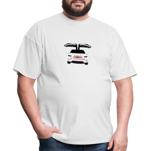 Tesla in the Gong Classic - Men's T-Shirt