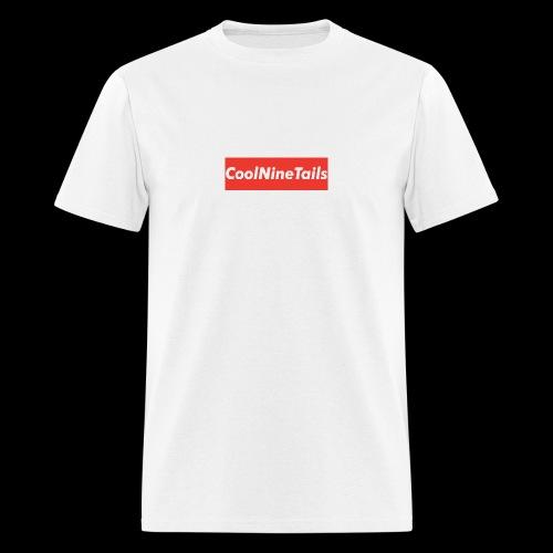 CoolNineTails supreme logo - Men's T-Shirt