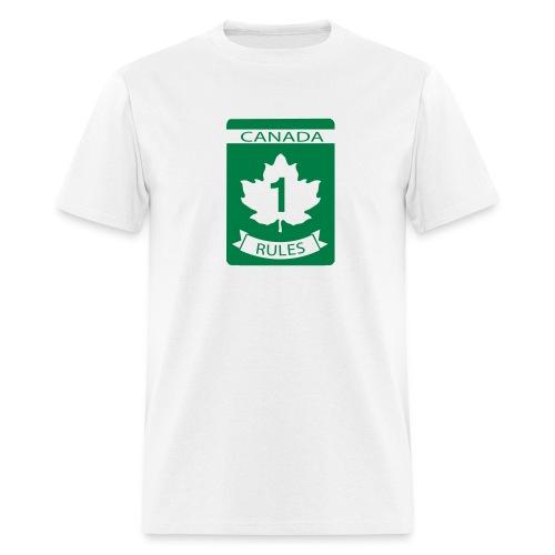 Canada Rules - Men's T-Shirt