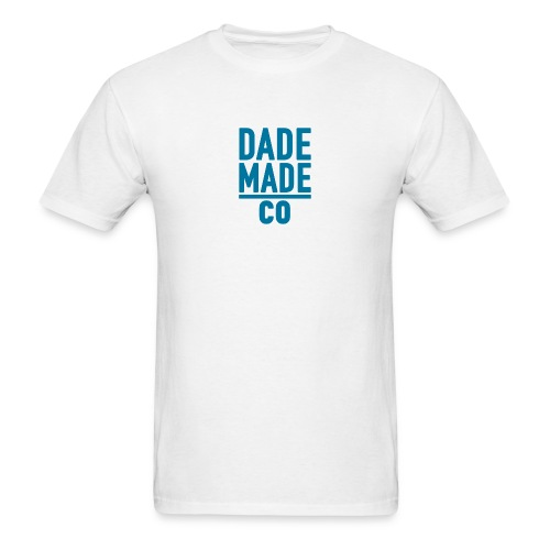 dademadelogoaqua - Men's T-Shirt