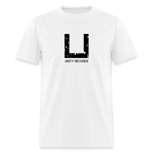 UNITY RECORDS LOGO BLACK - Men's T-Shirt