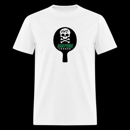 Bar Pong Paddle Logo - Men's T-Shirt