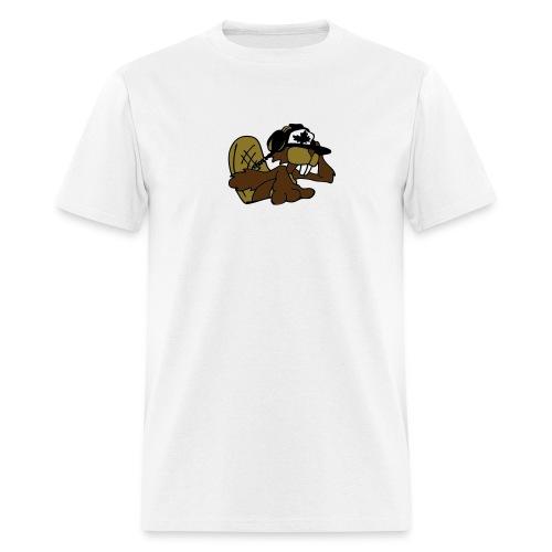 Beaver DJ - Men's T-Shirt
