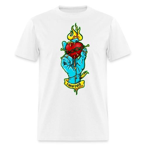 hand holding heart - Men's T-Shirt