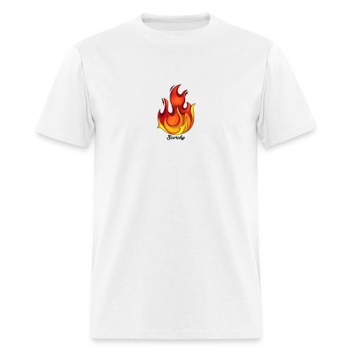 Scorchy Logo Black - Men's T-Shirt