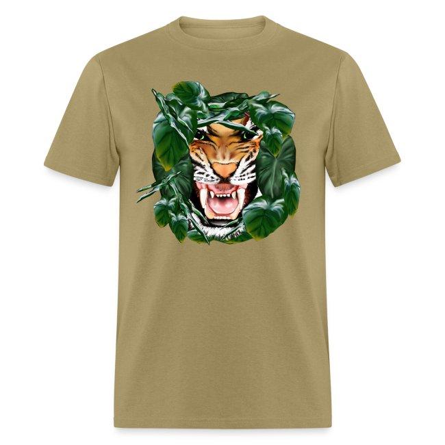 Tiger thru the leaves