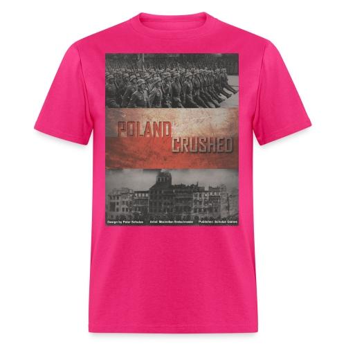 poland crushed - Men's T-Shirt