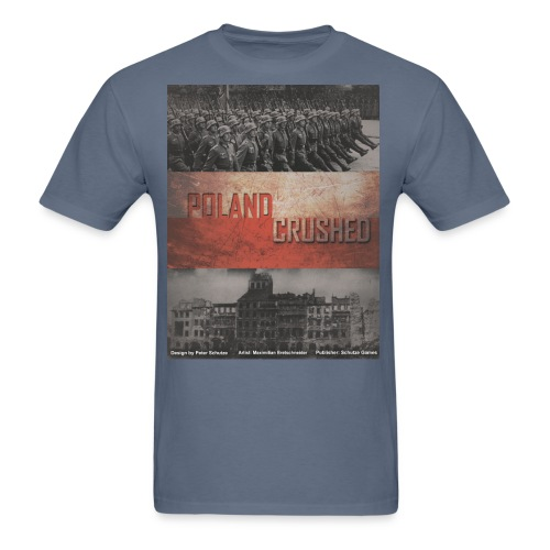 poland crushed - Men's T-Shirt