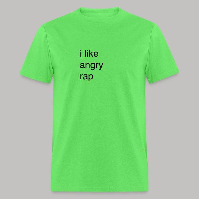 i like angry rap