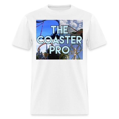 The Coaster Pro 4 Coaster Logo - Men's T-Shirt