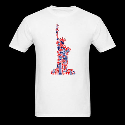 Statue of Liberty | American Icons - Men's T-Shirt