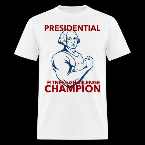 Presidential Fitness Challenge Champ - Washington - Men's T-Shirt