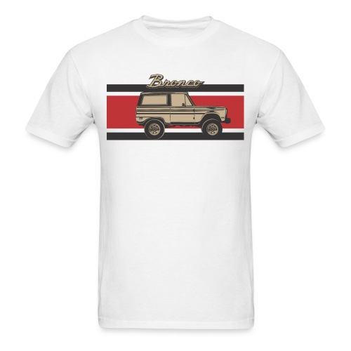 Bronco Truck Billet Design Men's T-Shirt - Men's T-Shirt
