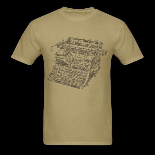 Typewritten Logophile - Men's T-Shirt