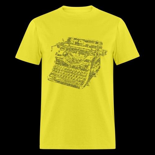 Typewritten Logophile - Men's T-Shirt