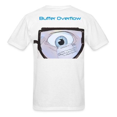 HA Buffer Overflow shirtv2 png - Men's T-Shirt