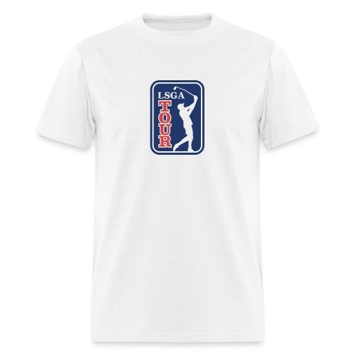 LSGA logo golf - Men's T-Shirt