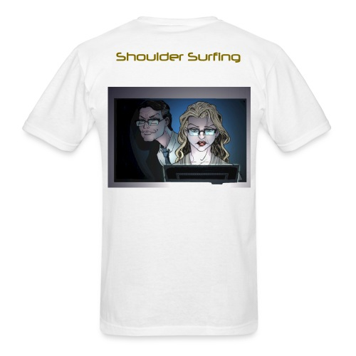 HA Shoulder Surf shirt png - Men's T-Shirt