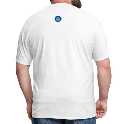 TGIF Blue on white - Men's T-Shirt