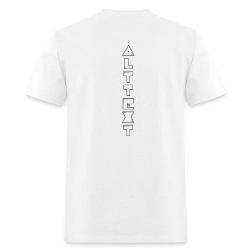 A T - BUBBLEGUM | Alternative Text co. - Men's T-Shirt
