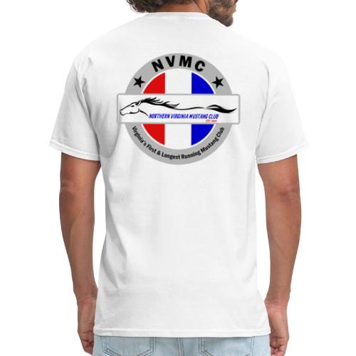 Circle logo t-shirt on silver/gray - Men's T-Shirt