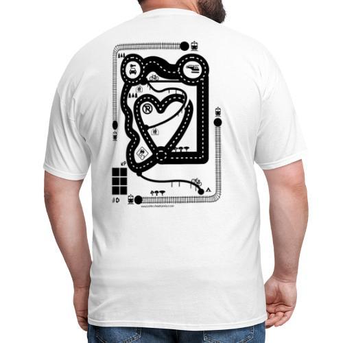 Car Tshirt train - Men's T-Shirt