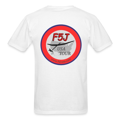 Got F5J? - F5J USA Tour T-shirt, 2 sided - Men's T-Shirt