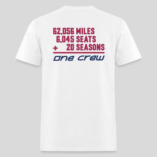 CRC 20th Season White Shirt - Men's T-Shirt