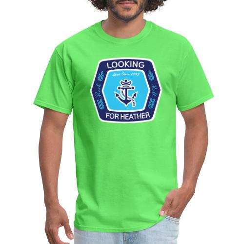 Looking For Heather Stock Logo - Men's T-Shirt