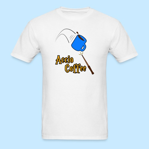 Accio Coffee! (Double Sided) - Men's T-Shirt