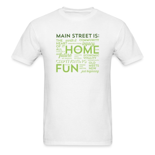 Green Graphic T-shirt - Men's T-Shirt
