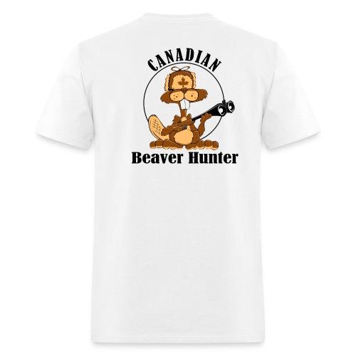Canadian Beaver Hunter - Men's T-Shirt
