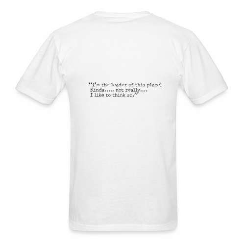 Fox with quote - Men's T-Shirt