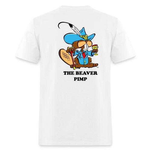 Beaver Pimp - Men's T-Shirt