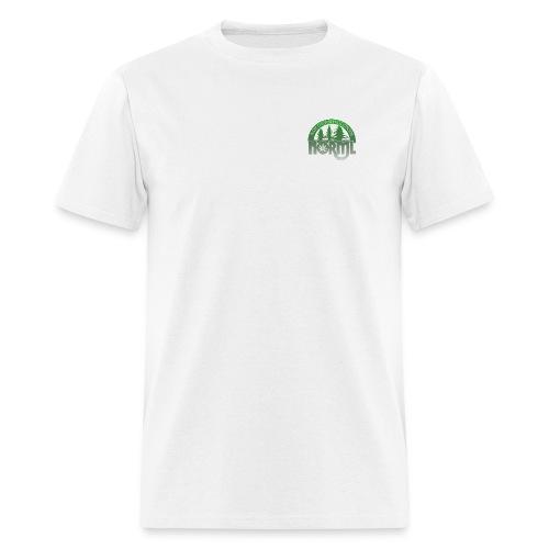Fade to Green Northern Wisconsin NORML Logo - Men's T-Shirt