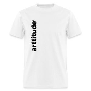 Arttitude White - Men's T-Shirt