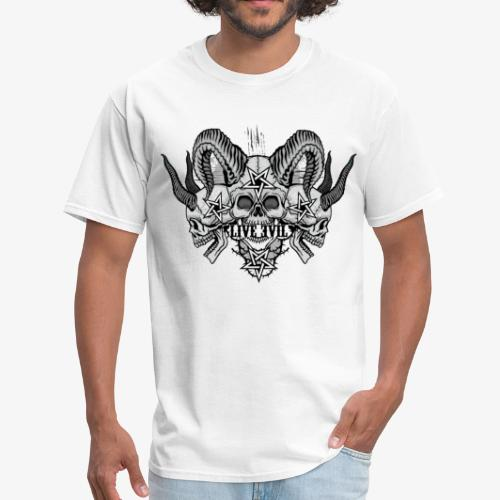 Live Evil Triple Demon - Men's T-Shirt
