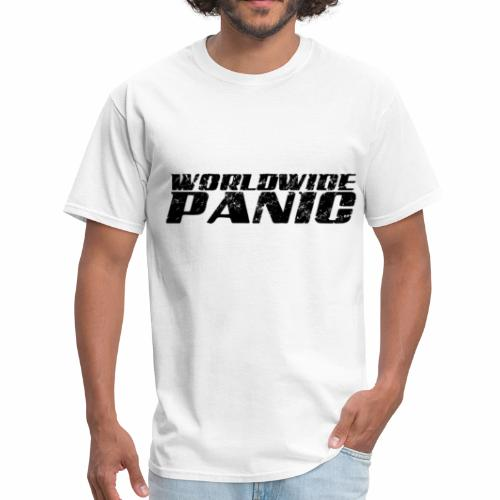 Worldwide Panic Logo Black - Men's T-Shirt