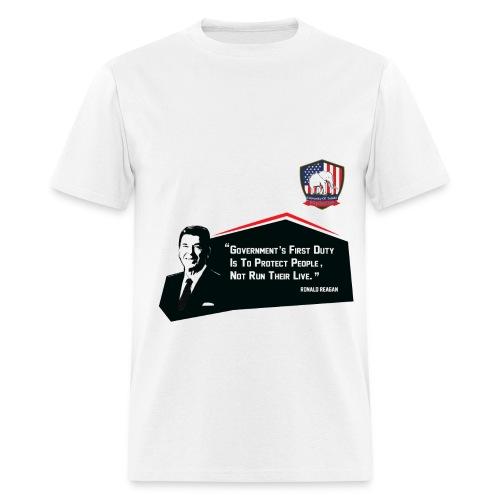 College Republicans UT - Ronald Reagan - Men's T-Shirt