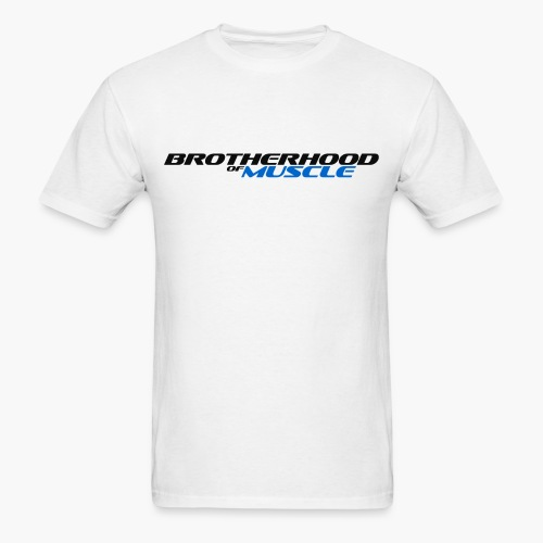 Brotherhood Of Muscle (Black V2) - Men's T-Shirt