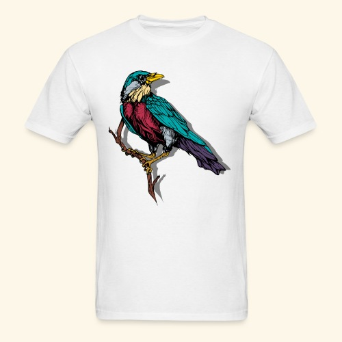Colorful Bird Design - Men's T-Shirt