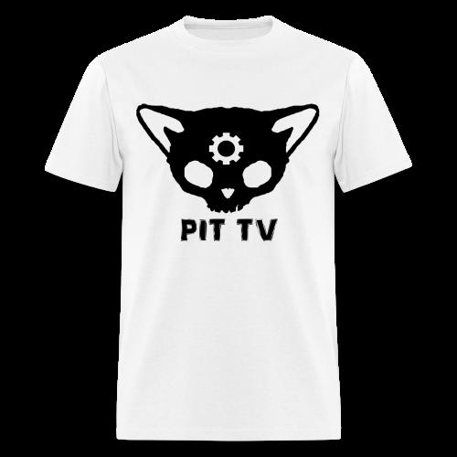 PIT TV Catskull graphic - Men's T-Shirt