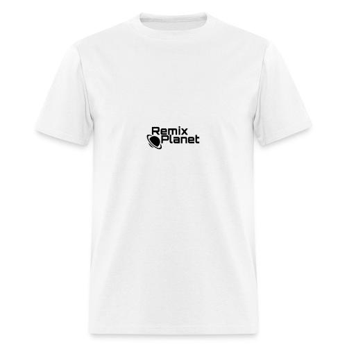 RemixPlanet Black Logo - Men's T-Shirt
