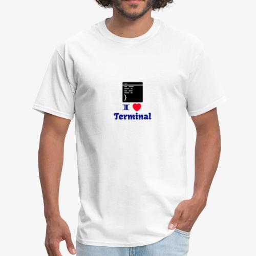 I Love Terminal - Men's T-Shirt
